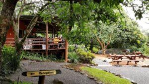 Lidwala Lodge's reception